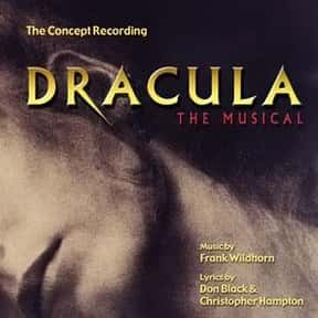 Dracula, the Musical is listed (or ranked) 16 on the list The Best Plays Based on Books