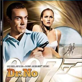 Dr. No is listed (or ranked) 4 on the list The Best Spy Movies Based on Books