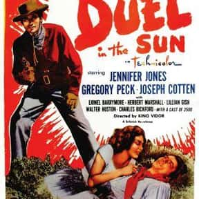 Duel in the Sun is listed (or ranked) 9 on the list The Best 1940s Western Movies