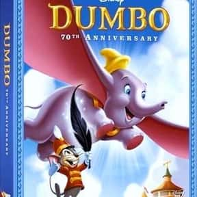 Dumbo is listed (or ranked) 25 on the list Disney Movies with the Best Soundtracks, Ranked