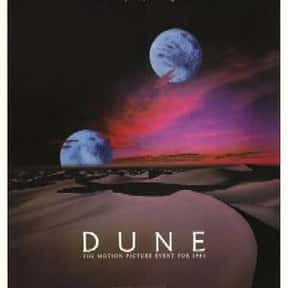 Dune is listed (or ranked) 12 on the list The Greatest Guilty Pleasure Sci-Fi Movies