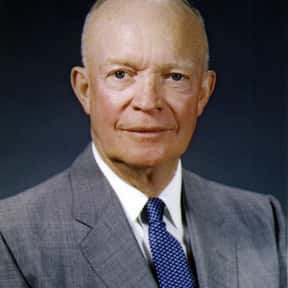 Dwight D. Eisenhower is listed (or ranked) 11 on the list Gallup Poll: Widely Admired People of the 20th Century