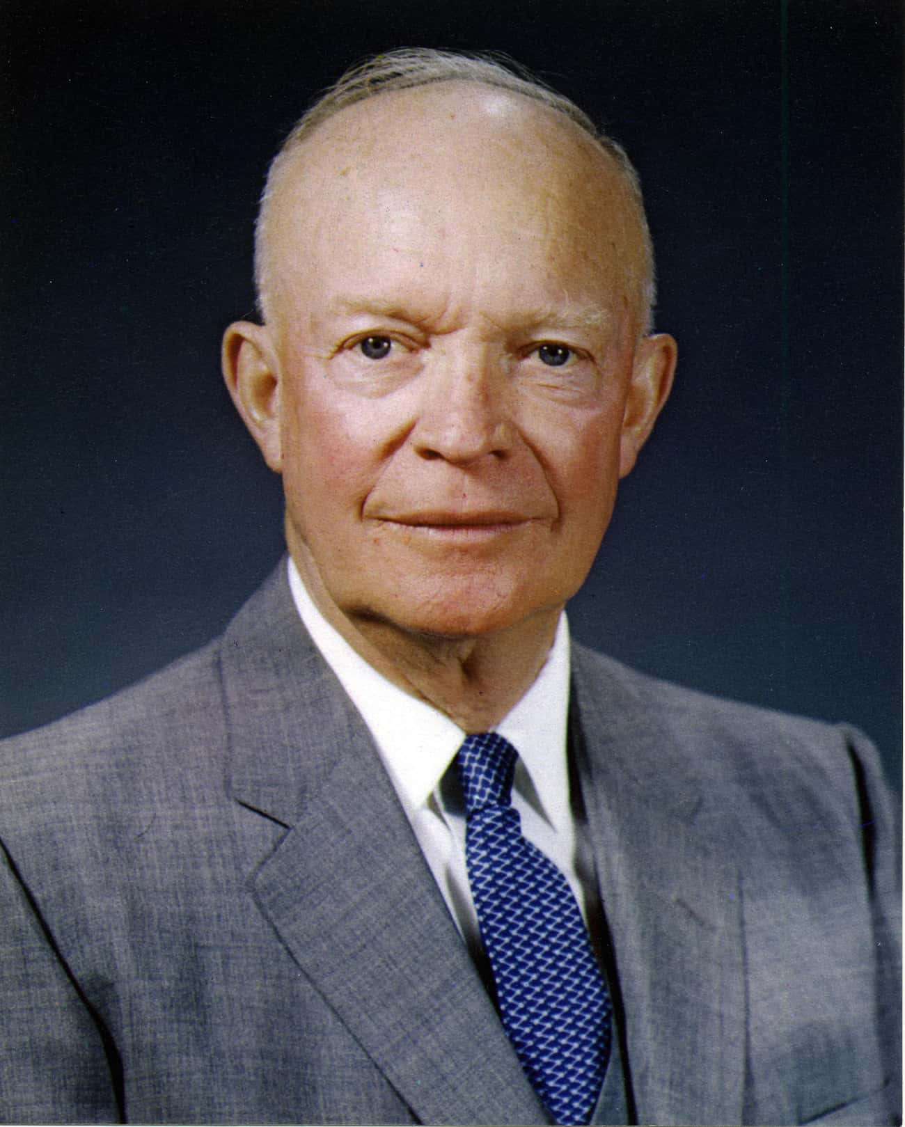 Dwight D. Eisenhower is listed (or ranked) 4 on the list Famous People Who Died of Cardiovascular Disease