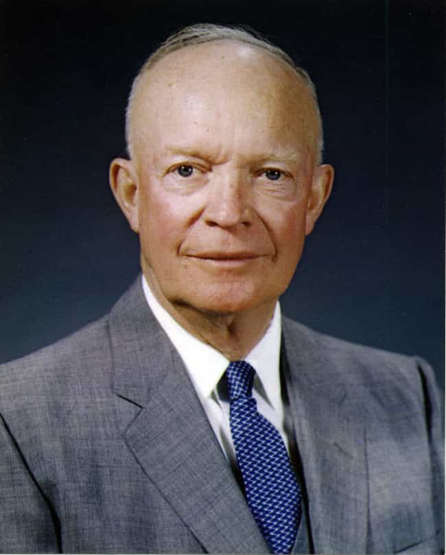 Dwight D. Eisenhower is listed (or ranked) 4 on the list 30 Famous Jehovah's Witnesses
