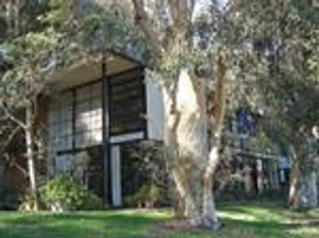 Eames House is listed (or ranked) 4 on the list List of Eero Saarinen Architecture