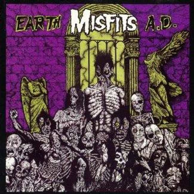 Earth A.D. is listed (or ranked) 4 on the list The Best Misfits Albums of All Time