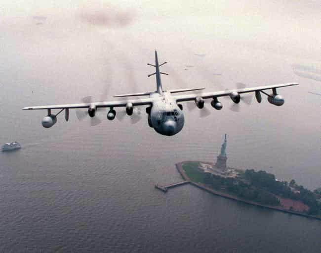 Lockheed EC-130 is listed (or ranked) 4 on the list Planes Used By Air National Guard
