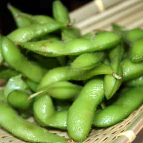 Edamame is listed (or ranked) 17 on the list The Best Types of Japanese Food