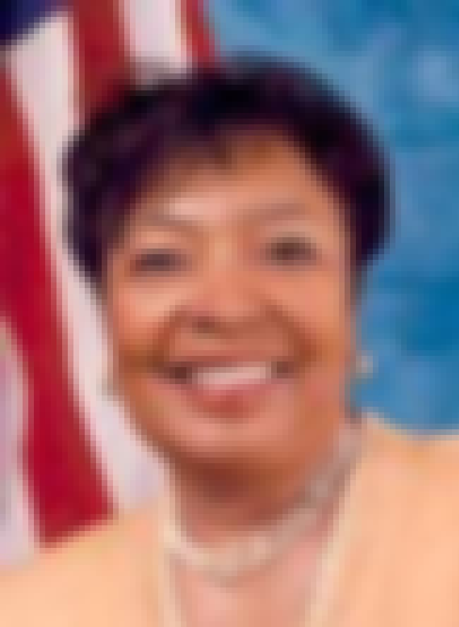 Eddie Bernice Johnson is listed (or ranked) 3 on the list Famous Saint Mary's College Alumni