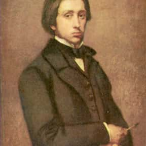 Edgar Degas is listed (or ranked) 4 on the list Famous People Buried in Montmartre Cemetery