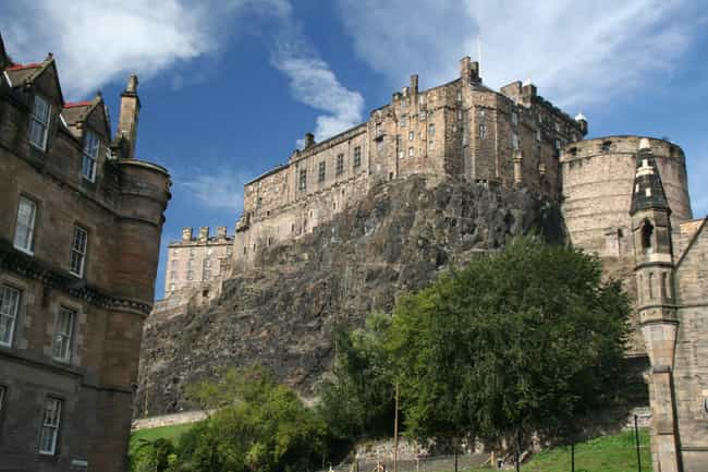 Edinburgh Castle is listed (or ranked) 2 on the list The Most Beautiful Castles in Scotland