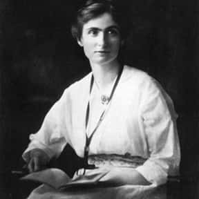 Edith Abbott is listed (or ranked) 17 on the list Famous University College London Alumni
