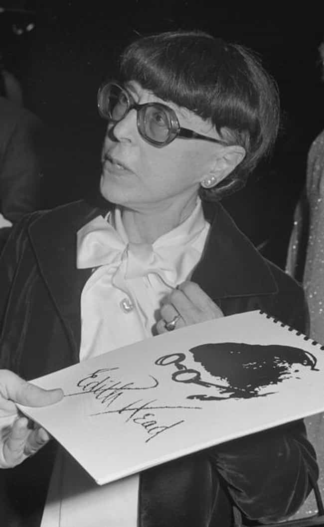 Edith Head is listed (or ranked) 4 on the list 15 Celebrities Who Were in Delta Zeta