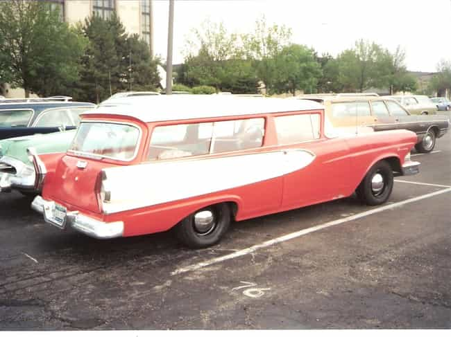 Edsel Roundup is listed (or ranked) 2 on the list Full List of Edsel Models