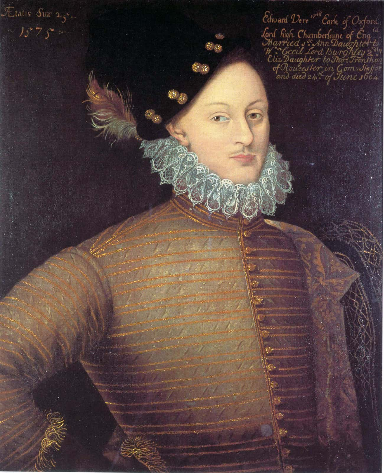 Edward de Vere, 17th Earl of O is listed (or ranked) 2 on the list List of Famous Courtiers