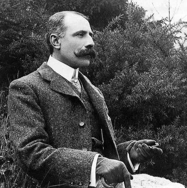 Edward Elgar is listed (or ranked) 8 on the list Famous Male Violinists