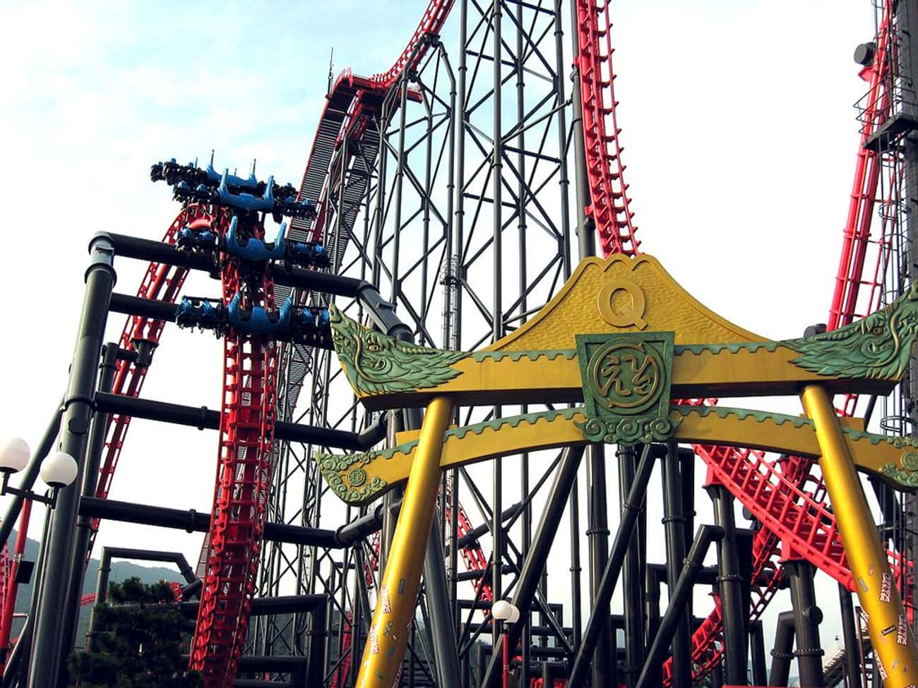 Eejanaika is listed (or ranked) 1 on the list The Best Rides at Fuji-Q Highland