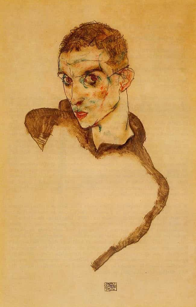 Egon Schiele is listed (or ranked) 4 on the list Famous Expressionist Artists