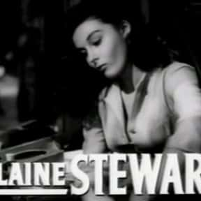 Elaine Stewart is listed (or ranked) 15 on the list Famous People Whose Last Name Is Stewart
