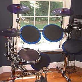 Electronic drum is listed (or ranked) 15 on the list Instruments in the Percussion Family