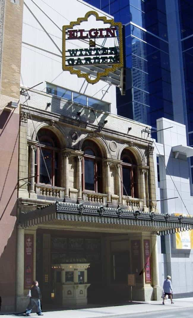 Elgin and Winter Garden Theatr... is listed (or ranked) 4 on the list List of Thomas W. Lamb Architecture