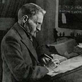 Eliezer Ben-Yehuda is listed (or ranked) 12 on the list List of Famous Lexicographers