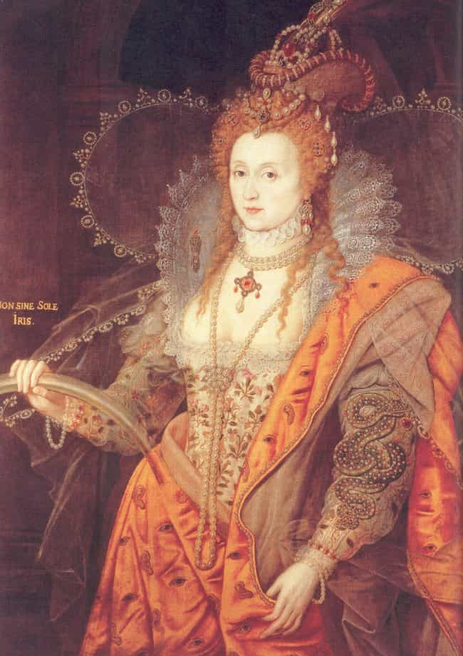 Elizabeth I of England ... is listed (or ranked) 1 on the list Members of the Tudor Dynasty