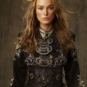 Elizabeth Swann is listed (or ranked) 1 on the list Fictional Characters Named Elizabeth