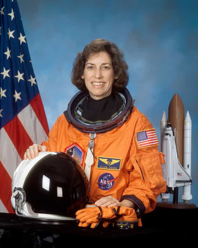 Ellen Ochoa is listed (or ranked) 2 on the list Famous Female Astronauts
