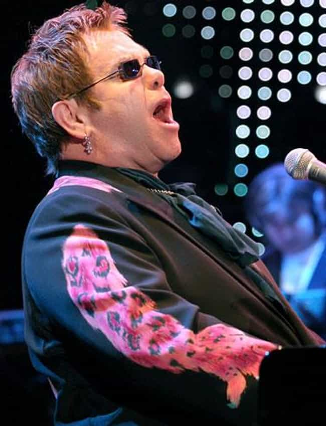 Elton John is listed (or ranked) 3 on the list Famous Gay Men Who Were Once Married To Women