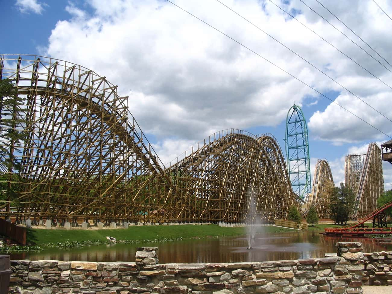 El Toro is listed (or ranked) 4 on the list The Best Roller Coasters in the World