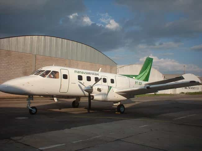 Embraer EMB 110 Bandeirante is listed (or ranked) 3 on the list Planes Used By Brazilian Air Force