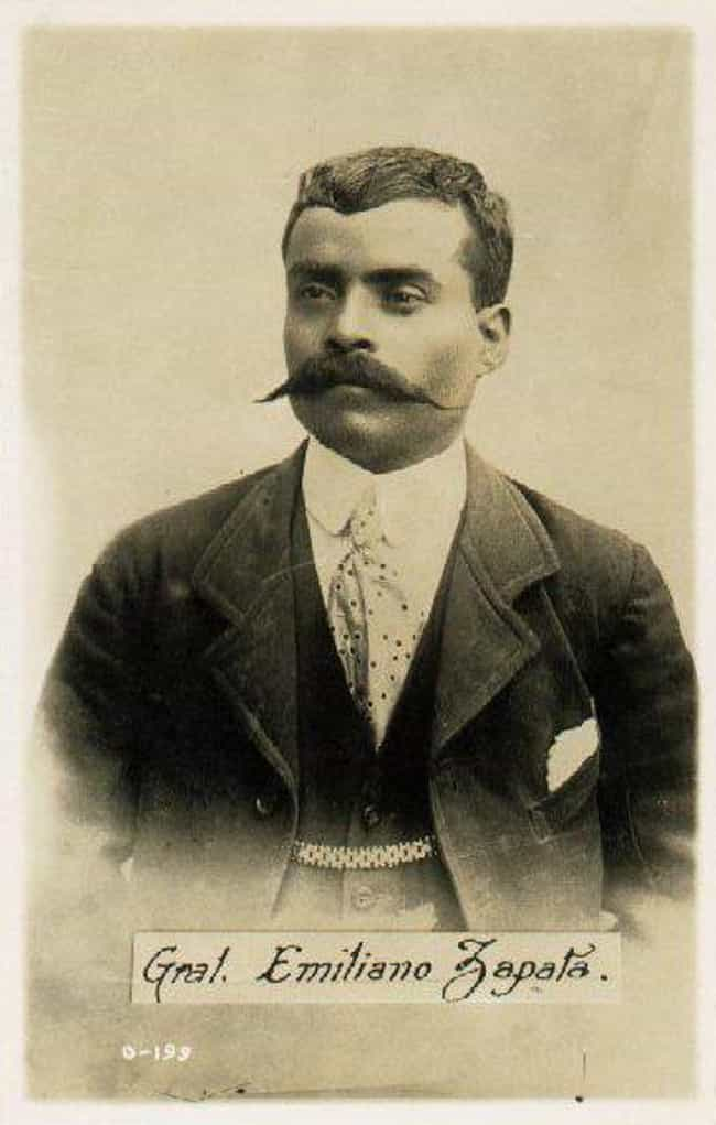 Emiliano Zapata is listed (or ranked) 1 on the list Famous Male Saints