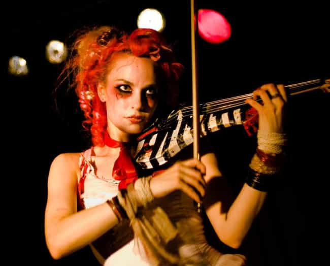 Emilie Autumn is listed (or ranked) 2 on the list Famous Female Violinists