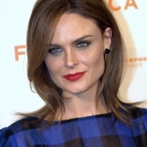 Emily Deschanel is listed (or ranked) 18 on the list Famous People Named Emily