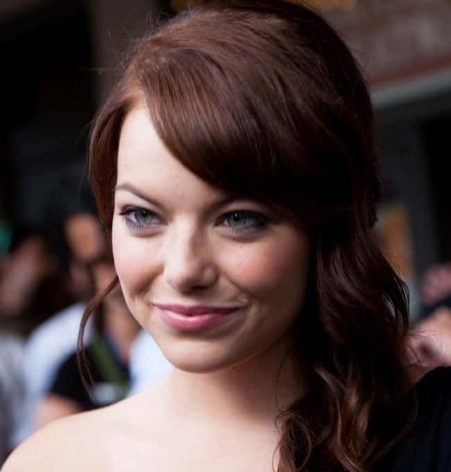 Emma Stone is listed (or ranked) 46 on the list The Most Captivating Celebrity Eyes (Women)