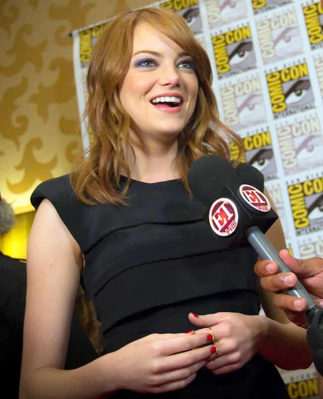 Emma Stone is listed (or ranked) 2 on the list Famous People Who Don't Like Game of Thrones