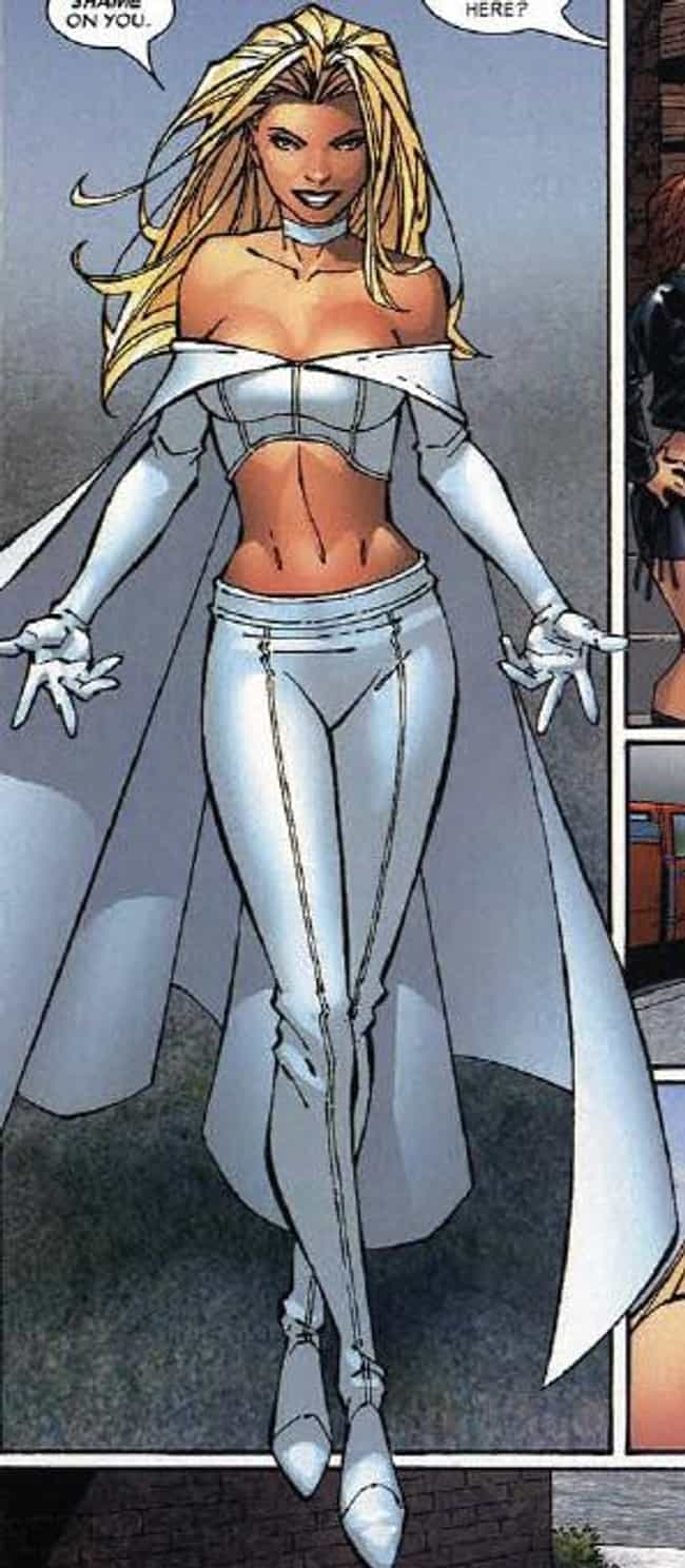 Emma Frost is listed (or ranked) 1 on the list Marvel Comics Villainesses That Make You Want To Be Bad