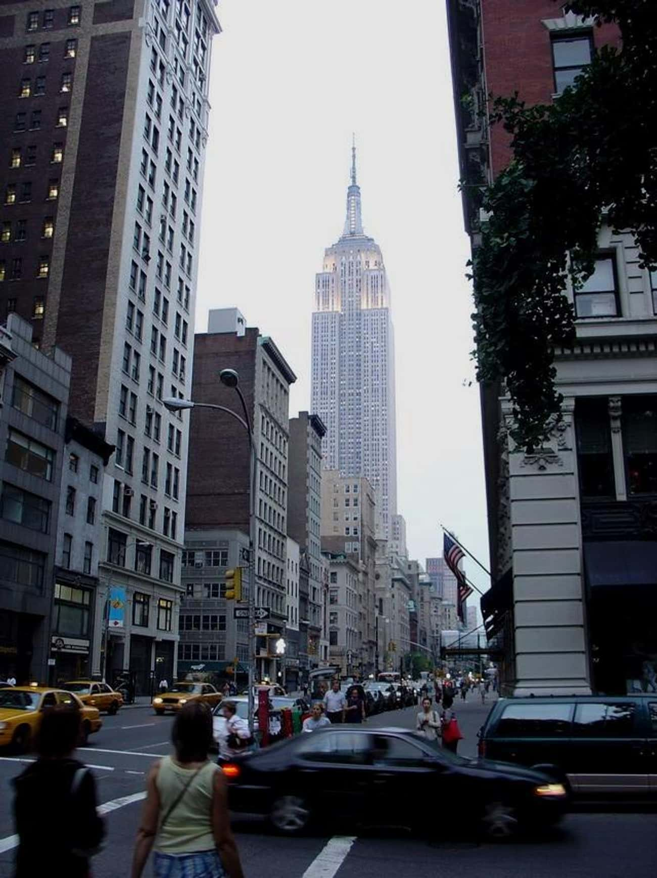 Empire State Building is listed (or ranked) 2 on the list The Top 25 Tallest Buildings in New York