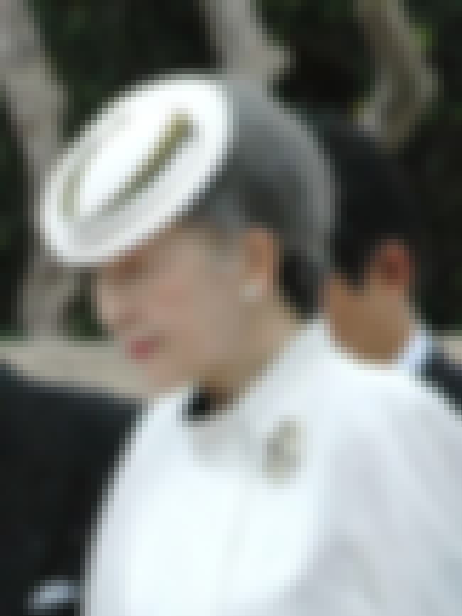 Empress Michiko is listed (or ranked) 4 on the list Members of the Imperial House Of Japan