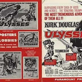 Ulysses is listed (or ranked) 22 on the list The Best Kirk Douglas Movies
