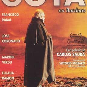 Goya in Bordeaux is listed (or ranked) 21 on the list The Best Period Movies Set in the 18th Century