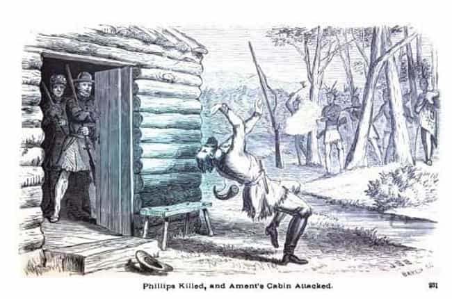Attack at Ament's Cabin is listed (or ranked) 1 on the list List Of Black Hawk War Battles