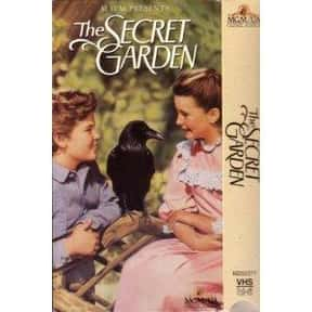 The Secret Garden is listed (or ranked) 8 on the list The Best Film Adaptations of Young Adult Novels