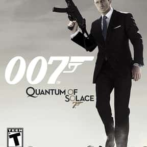 007: Quantum of Solace is listed (or ranked) 7 on the list The Best James Bond Games