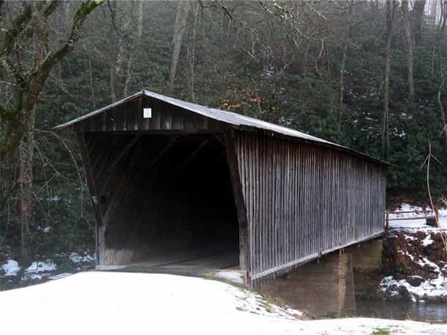 Bob White Covered Bridge... is listed (or ranked) 4 on the list Bridges in Virginia