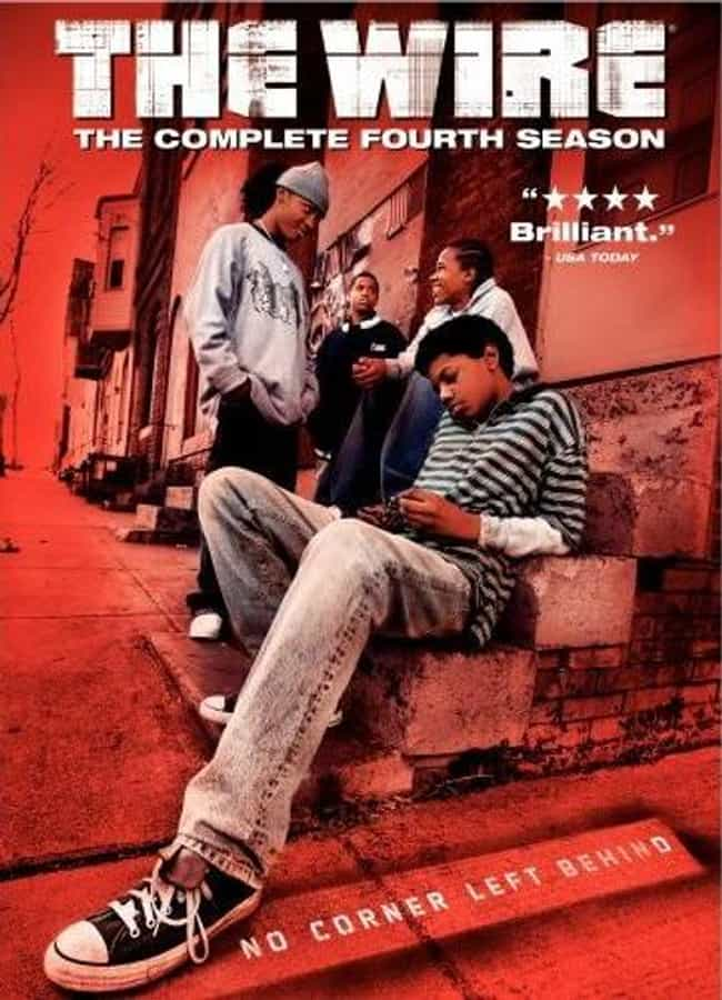 The Wire - Season 4 is listed (or ranked) 1 on the list The Best Seasons of The Wire