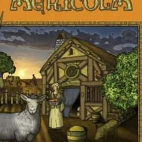 Agricola is listed (or ranked) 17 on the list The Best Board Games of All Time