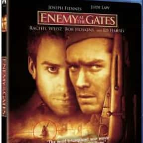 Enemy at the Gates is listed (or ranked) 9 on the list Roger's Top 250+ Classic Epic Movies