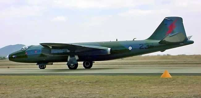 English Electric Canberra is listed (or ranked) 3 on the list Planes Used By Argentine Air Force